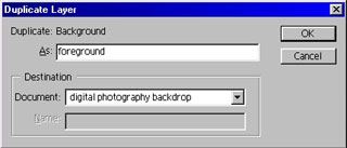 duplicate layer in adobe photoshop